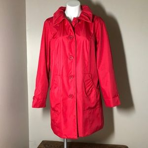 Dennis by Dennis Basso pink spring jacket small